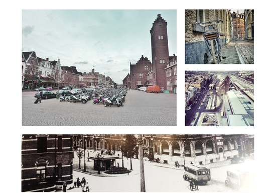 Stationsplein Collage