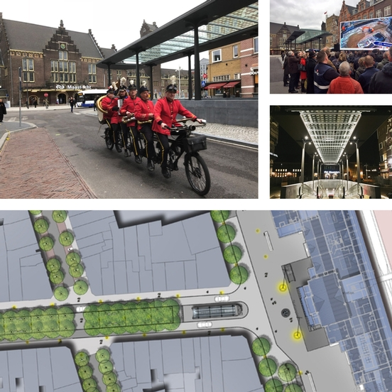 nieuwsbrief april 2018 opnening Stationsplein Maastricht
