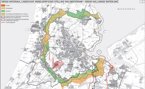 Stelling van Amsterdam / Geniedijk / Geniepark Noord ...